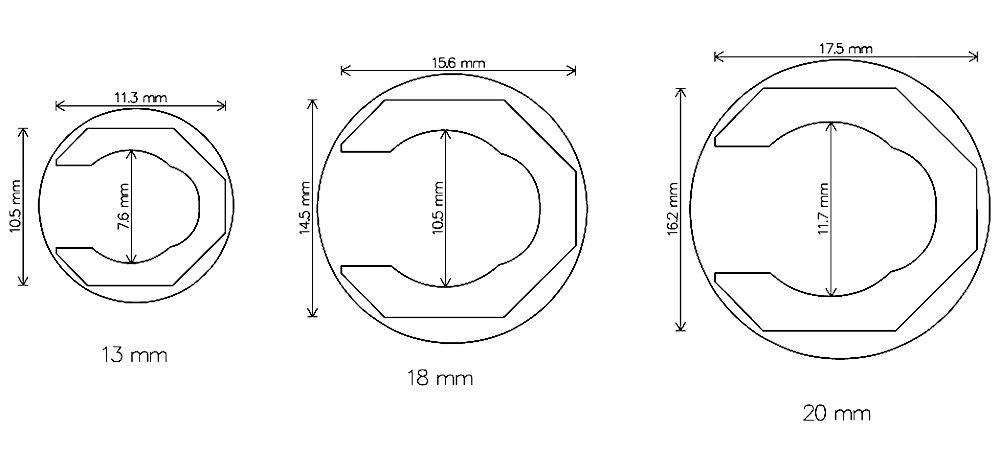 Dimensioned 131820